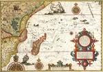 Delineatio orarum maritimarum Terrae vulgo indigitatae terra do Natal item Sofalae Mozambicae & Melindae ...