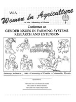 Women in agriculture : at the University of Florida : program