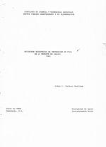 Registros economicos de produccion de papa en la Montana de Jalapa