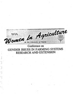 Intra-household gender issues in farming systems in Tanzania, Zambia and Malawi