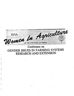 Gender roles in Caribbean small scale agriculture