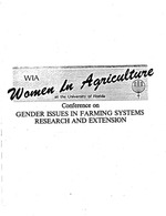Incorporating women into monitoring and evaluation systems in Farming Systems Research and Extension