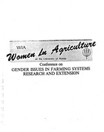 Integrated pest management approach in Farming Systems Research and Extension : the role of women