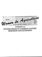 Outline for roundtable discussion of some gender related Extension techniques in FSRE