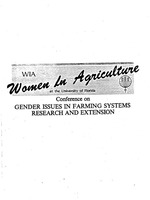 Technology and change in Israeli farm women's productive roles
