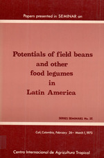 Potentials of field beans and other food legumes in Latin America