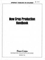 New crop production handbook