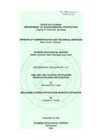 Florida petroleum production and exploration ( FGS: Information circular 110 )
