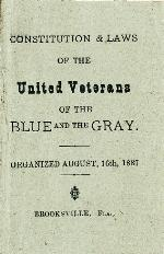 United Veterans of the Blue and the Gray Florida Bivouac No. 1 Records, 1887-1889. Minutes. Aug. 16, 1887-July 18, 1889. Brooksville, Fla.