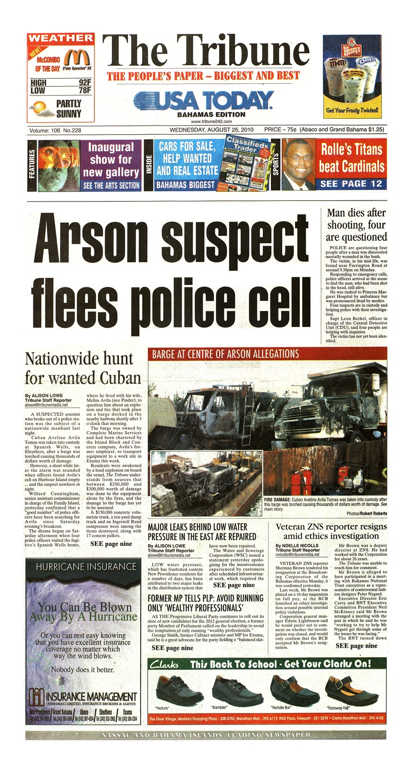The Tribune - Page 1
