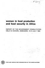 Women in food production and food security in Africa
