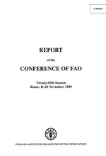 Report of the Conference of FAO