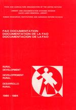FAO documentation : rural development