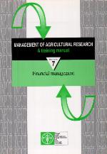 Management of agricultural research