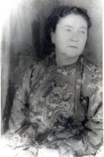 Portrait of Marjorie Kinnan Rawlings at age 57 taken by Carl Van Vechten