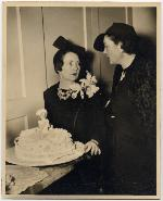 Marjorie Kinnan Rawlings and Margaret Mitchell at premier for Gone with the Wind in Atlanta