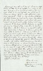 Agreement: J. Patton Anderson and Cromwell Adair – Nov. 17, 1859