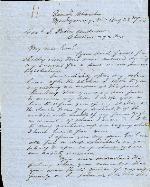 Payne, John I.W. to J. Patton Anderson – Aug. 28, 1863 – Montgomery, AL