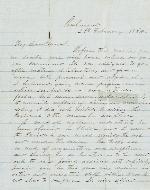 Bragg, Braxton to J. Patton Anderson – Feb. 28, 1864 – Richmond, VA