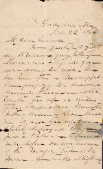 Lee, S.D. to J. Patton Anderson – Oct. 22, 1864 – Gadsden, AL