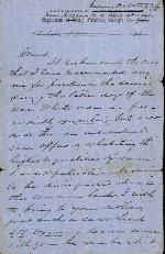 Anderson, J. Patton to General N.B. Forrest – Apr. 14, 1865 – Hillsboro, NC