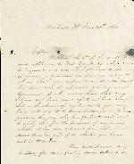 Anderson, J. Patton to Captain S.L. Mattenry – Jun. 28, 1865 – Monticello, FL