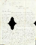 Bragg, Braxton to J. Patton Anderson – Apr. 10, 1867 – New Orleans, LA