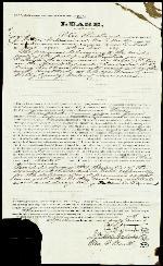 Lease of House – Apr. 7, 1869 – Memphis, TN