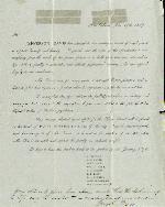 Fundraising Letter (Jefferson Davis) – Nov. 17, 1869 – New Orleans, LA