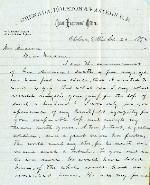 Tucker, W. F. to Etta A. Anderson – Sep. 26, 1872 – Okolona, MS