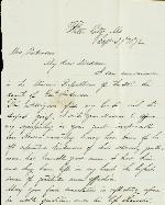 McDonald, Edward M. to Etta A. Anderson – Sep. 27, 1872 – Platte City, MO