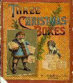 Three Christmas boxes