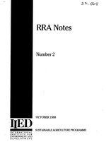 RRA notes