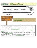 Florida forest steward