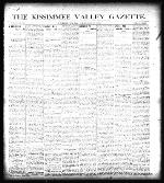 The Kissimmee Valley gazette
