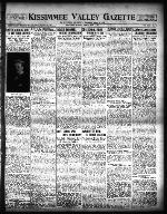 The Kissimmee Valley gazette