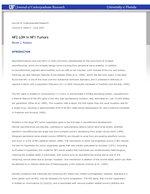 NF2 LOH in NF1 Tumors