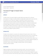 The Analysis Of Flagger and Signaler Deaths
