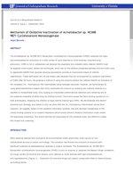 Mechanism of Oxidative Inactivation of Acinetobacter sp. NCIMB 9871 Cyclohexanone Monooxygenase