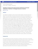 Feasibility of Using Constructed Treatment Wetlands for Municipal Wastewater Treatment in the Bogotá Savannah, Colombia
