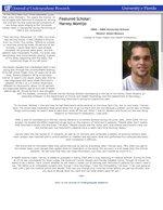 Featured Scholar: Harvey Montijo
