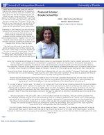 Featured Scholar: Brooke Schoeffler