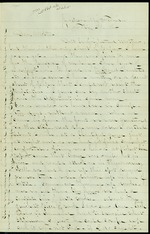 Duren, Charles M. to his Mother, February 29, 1864 - Jacksonville, Fla.  (1 sheet, 4 leaves)