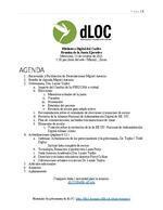 Español: dLOC Junta EjecutivaAgenda y Actualizaciones 2021