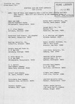 Vegetable seed and plant companies, 1970 listing