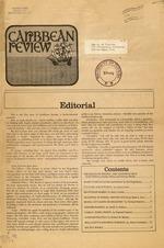 Caribbean Review, Vol. 1, No. 1, Spring 1969