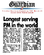 Longest Serving Prime Minister in the World