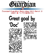 Great goal by 'Doc'