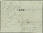 Mickler, Sallie to her Husband Jacob E., August 18, 1860- May Port, Fla. (1 sheet, 3 leaves)
