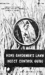 Home gardener's lawn insect control guide